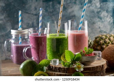 Fresh healthy drinks
