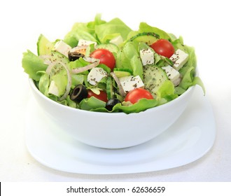 Fresh healthy garden salad