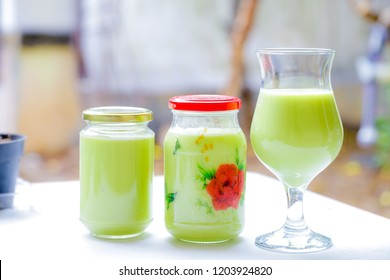 Fresh Homemade Avocado Juice