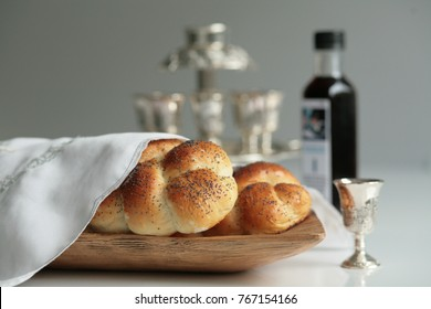 Fresh homemade challah for the Holy Sabbath