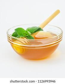Fresh honey and melissa