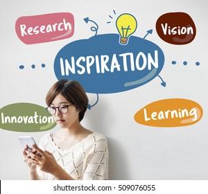 Fresh Ideas Creative Inspiration Concept