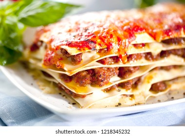 Fresh italian lasagne