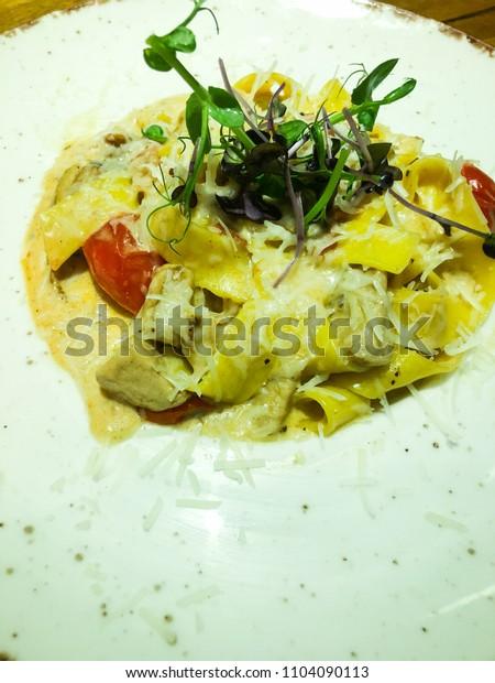 fresh italian pasta & truffles