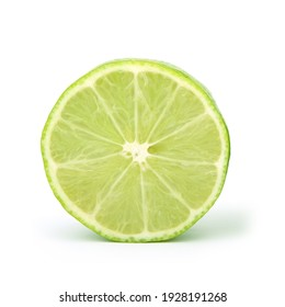 Fresh and juicy lemon cut in half
