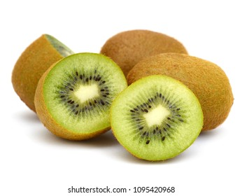 fresh kiwi fruits in cut half