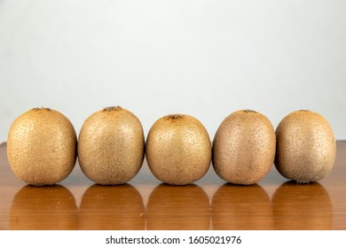 Fresh Kiwi on the table - Shutterstock ID 1605021976