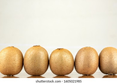 Fresh Kiwi on the table - Shutterstock ID 1605021985