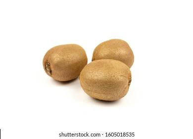 Fresh Kiwi on a white background - Shutterstock ID 1605018535