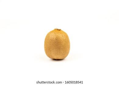 Fresh Kiwi on a white background - Shutterstock ID 1605018541