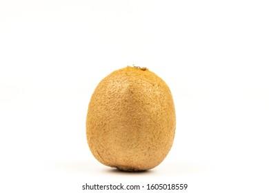 Fresh Kiwi on a white background - Shutterstock ID 1605018559