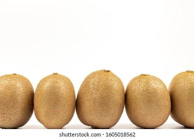 Fresh Kiwi on a white background - Shutterstock ID 1605018562