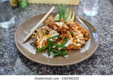 Fresh made Pad Thai. A very common dish throughout Thailand and the rest of the world