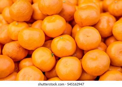 Fresh mandarin oranges