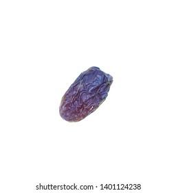 Fresh Medjool dates isolated on white background