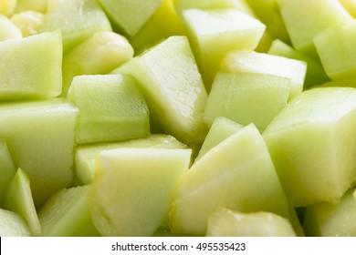Fresh melon sliced background. Melon sliced.