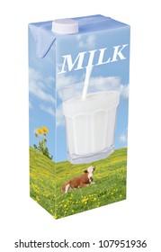 Fresh milk beverage carton