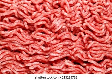 Fresh minced meat