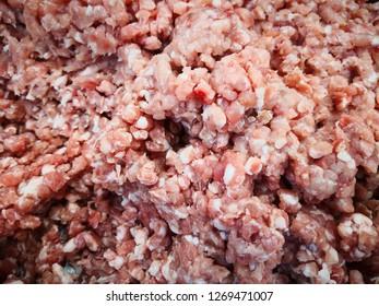 Fresh minced pork