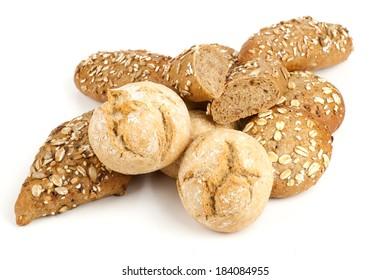 Fresh mini roll breads