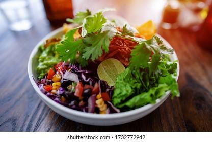 Fresh mixed salat. Healthy vegetarian food. Selective focus. Vegan Buddha bowl - Shutterstock ID 1732772942