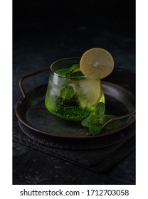 Fresh Mojito Drink Beverage Food Photography - Shutterstock ID 1712703058