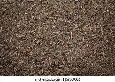 Fresh mulch background