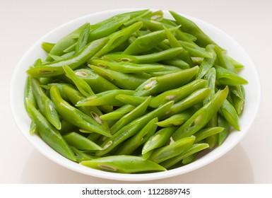 fresh and natural green beans