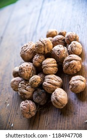 Fresh nuts on the table - Shutterstock ID 1184947708