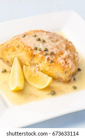 Fresh Ono, or Wahoo, sauteed in a macadamia nut crust with capers and lemon sauce