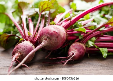 Fresh organic beet