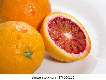Fresh Organic Blood Oranges