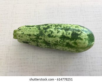 fresh organic cucumbers isolated on a white background