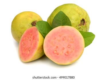 Fresh organic guava fruit.