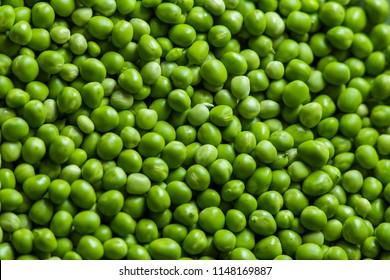 fresh organic pea background