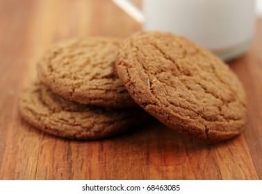 Fresh organic Rosemary Spice Cookies. My favorite!