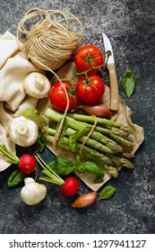 fresh organic vegetables for healthy eating