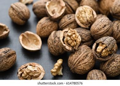 Fresh organic walnuts
