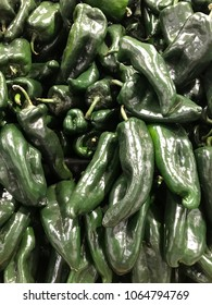 Fresh picked hot peppers.