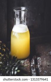 Fresh Pineapple Juice for Summer