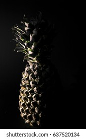 Fresh Pineapple On Dark