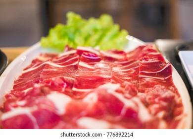 Fresh Pork with Served