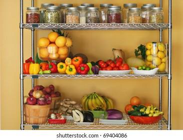 Fresh produce at home
