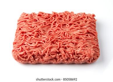 Fresh raw minced beef meat