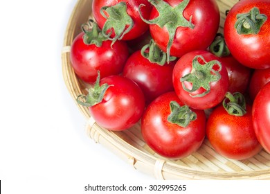 fresh red delicious tomatoes