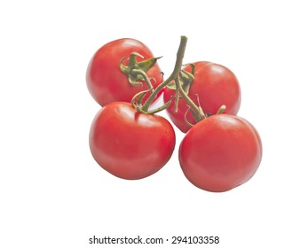 fresh red tomatoes prepare for cooking or salad