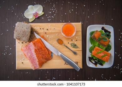 Fresh salted fish