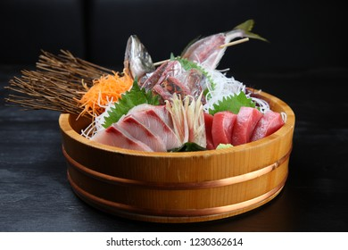 fresh sashimi combo tub