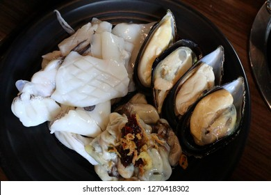 Fresh seafood from buffet restaurants