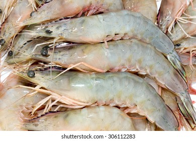 Fresh shrimp from the sea.